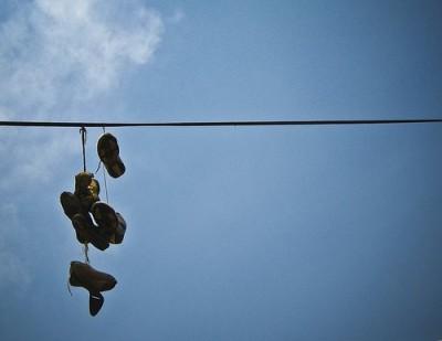 Zapatoscolgando