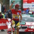 Contador, ataque de último kilómetro