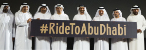 #RideToAbuDhabi