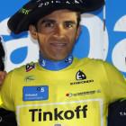 Contador gana por fin a un gregario de Froome