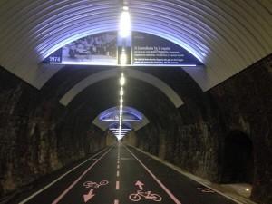 Tunel decorado con Sanremo