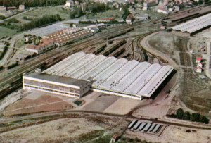 Vittel, l'usine d'embouteillage