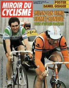 Milan San Remo 1982 Gomez