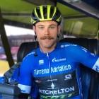 Alaphilippe y el bloqueo del ciclista