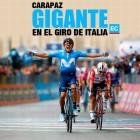 Doble victoria de Carapaz: etapa y gregario