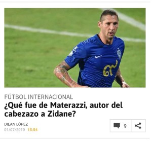 Diario As Materazzi