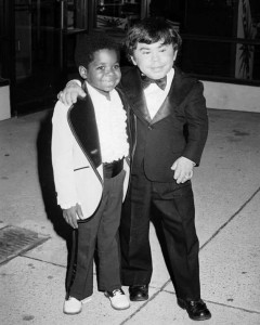Gary Coleman and Hervé Villechaize - 1979
