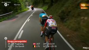 Vuelta 2019 fuga con De Gendt
