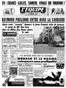 Sanremo 1961 Lequipe