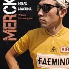 Merckx en un libro. Y cabe.